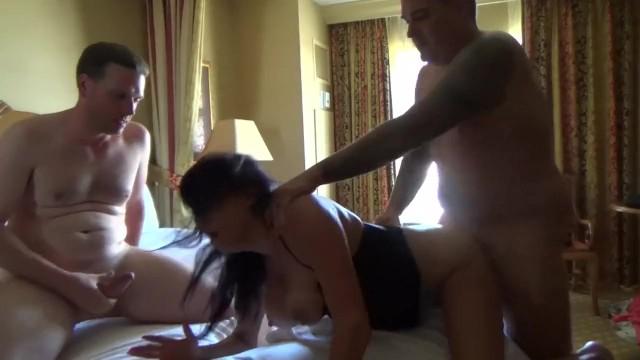 Hot Mature Wife Gangbanged, Husband Films